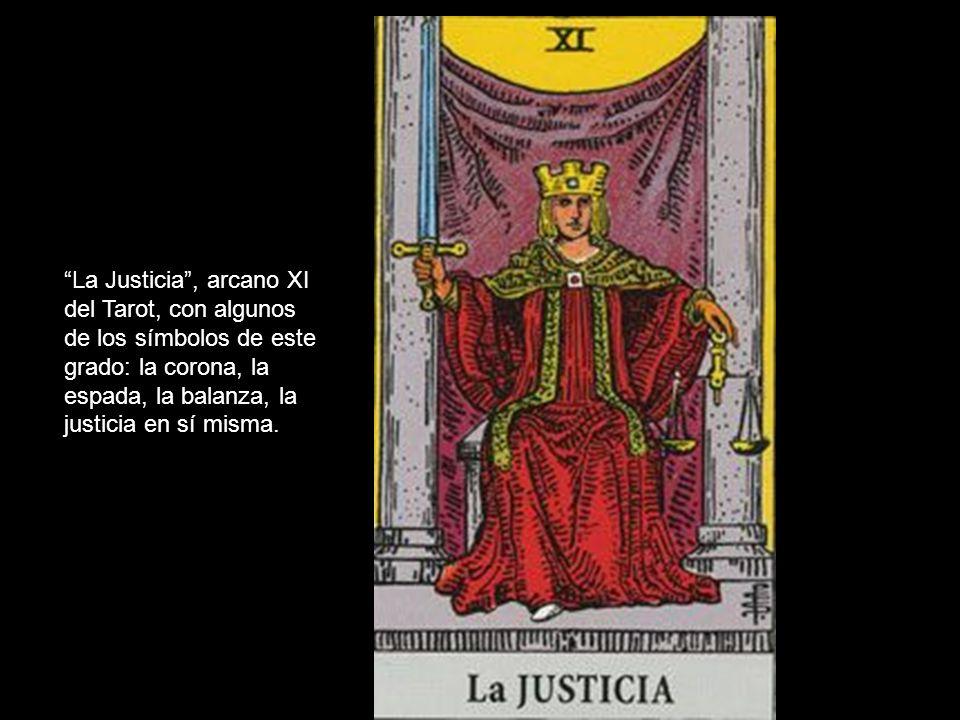 La Justicia , arcano XI