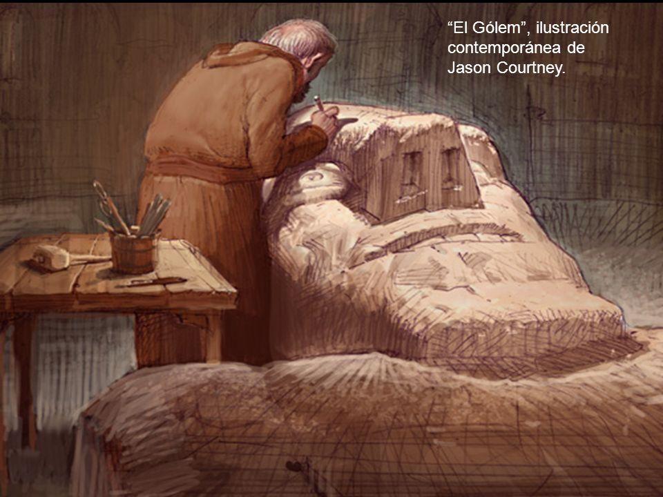 El Gólem , ilustración