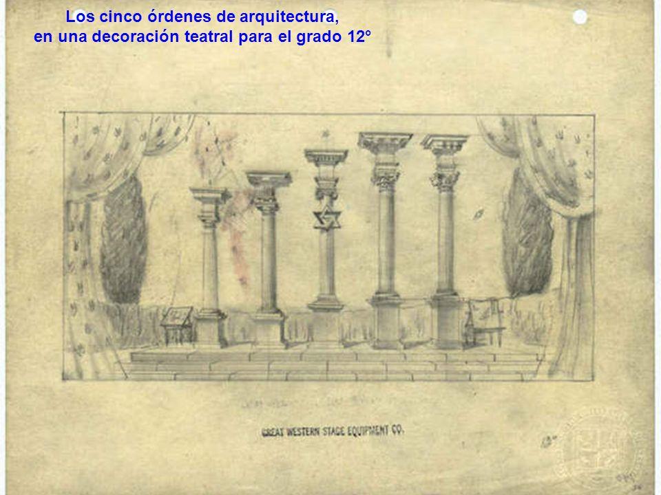 Los cinco órdenes de arquitectura,