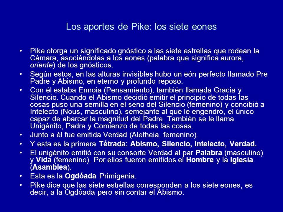 Los aportes de Pike: los siete eones