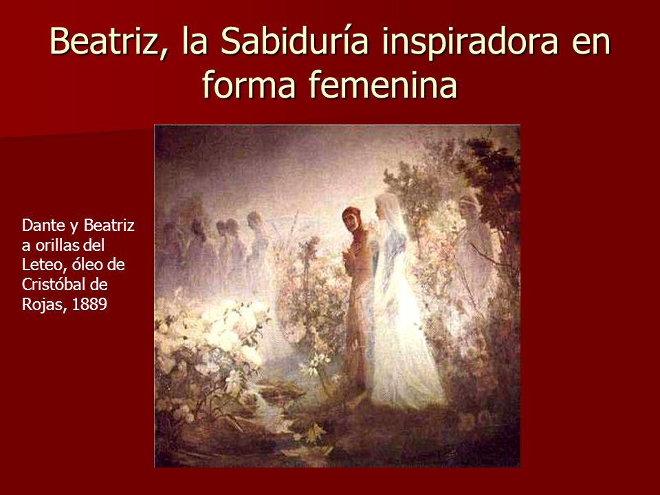 Beatriz, la Sabiduría inspiradora en forma femenina