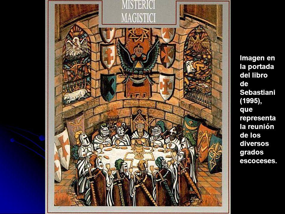 Imagen en la portada. del libro. de. Sebastiani. (1995), que. representa. la reunión. de los.
