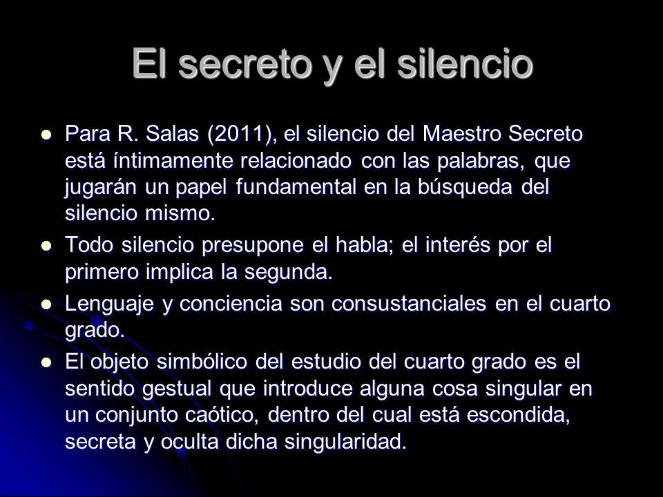 El secreto y el silencio