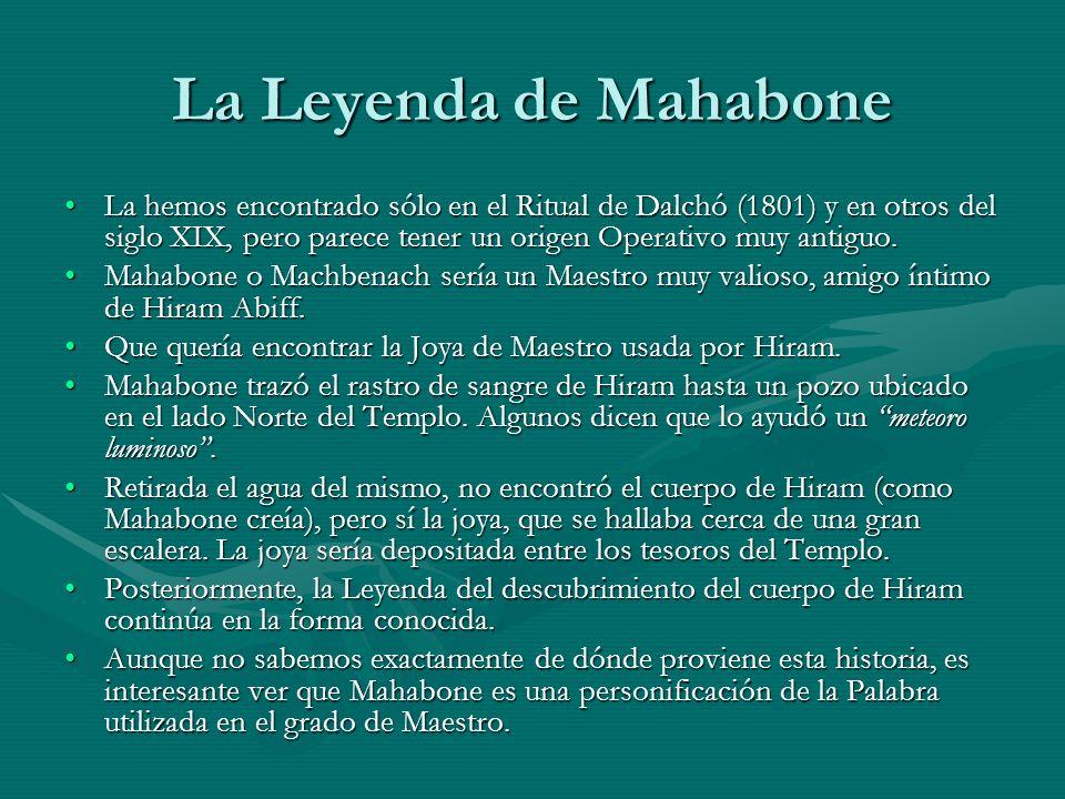 La Leyenda de Mahabone