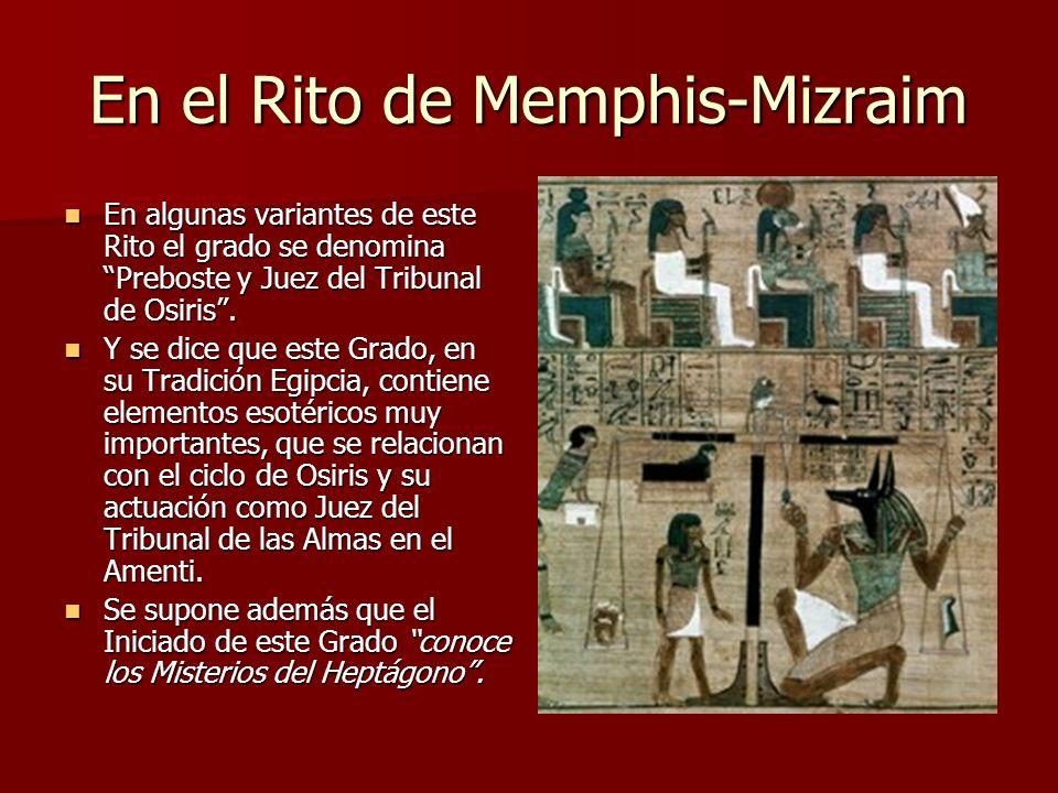 En el Rito de Memphis-Mizraim