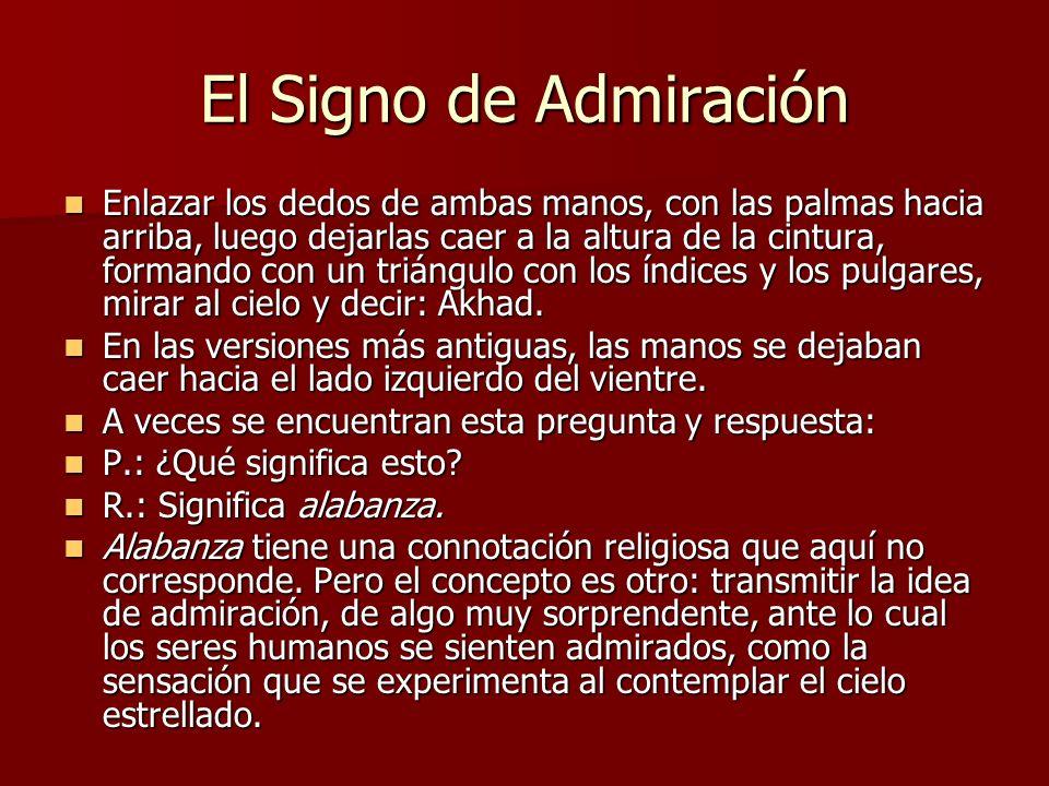 El Signo de Admiración