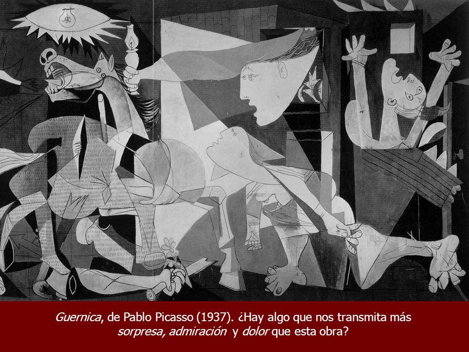 Guernica, de Pablo Picasso (1937). ¿Hay algo que nos transmita más