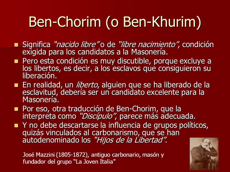 Ben-Chorim (o Ben-Khurim)