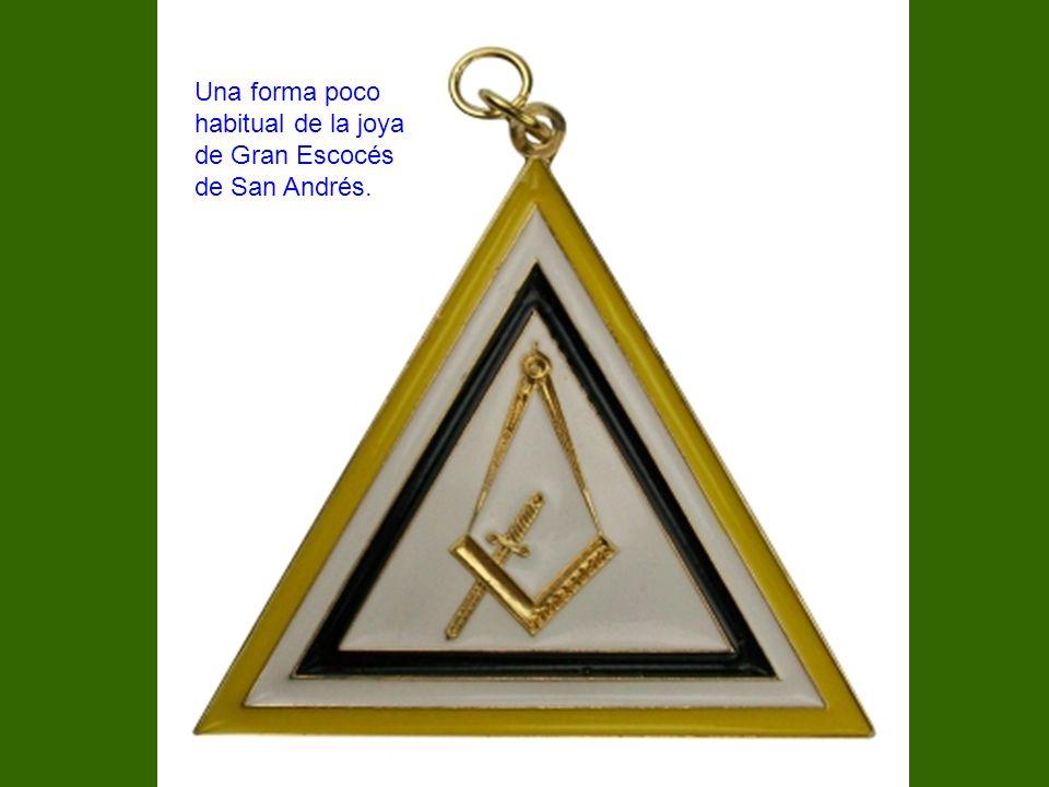 Una forma poco habitual de la joya de Gran Escocés de San Andrés.