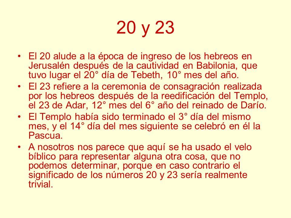 20 y 23