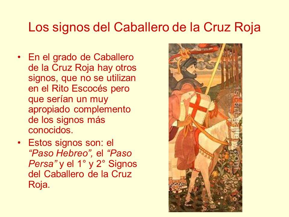 Los signos del Caballero de la Cruz Roja