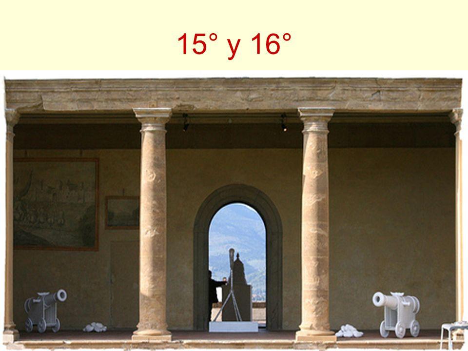 15° y 16°
