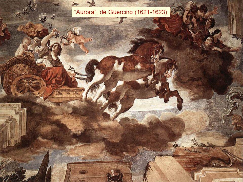 La aurora Aurora , de Guercino (1621-1623) En la mitología romana, Aurora es la deidad que personifica el amanecer.