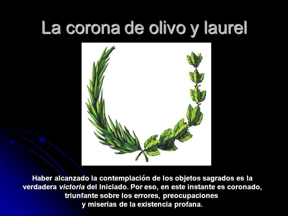 La corona de olivo y laurel