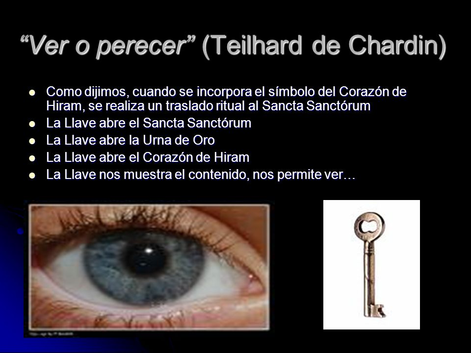 Ver o perecer (Teilhard de Chardin)