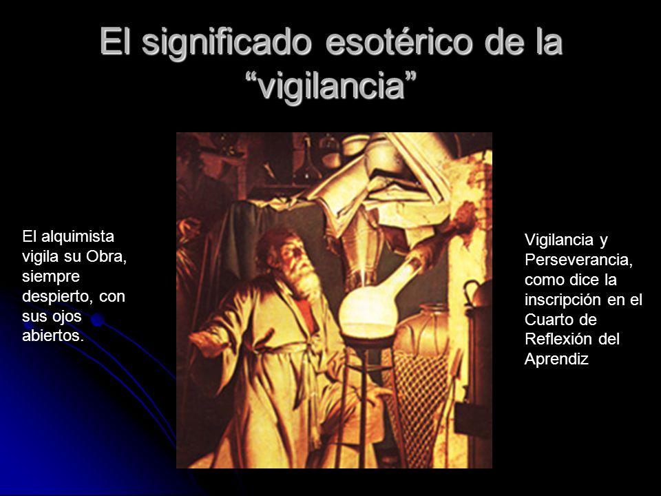 El significado esotérico de la vigilancia