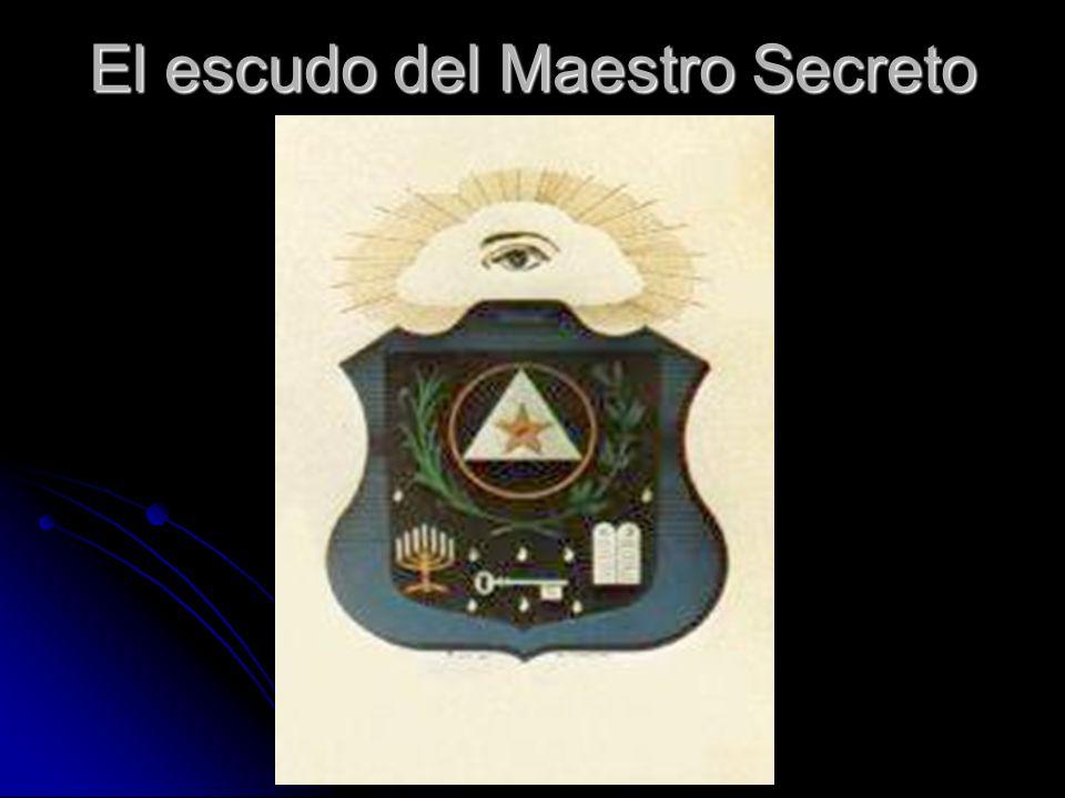 El escudo del Maestro Secreto