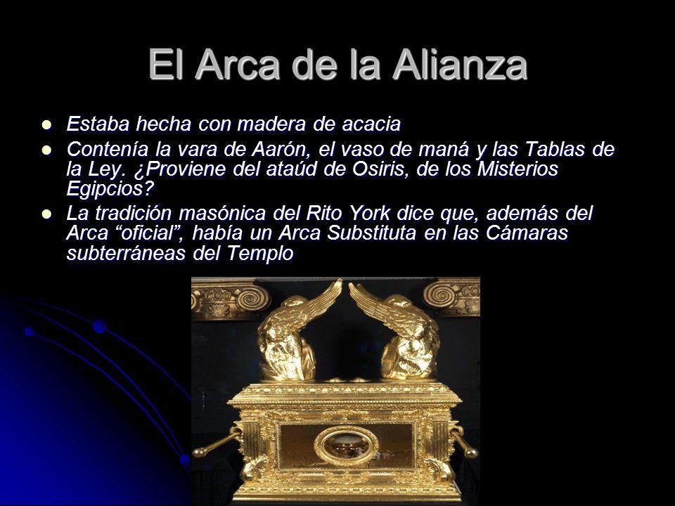 El Arca de la Alianza Estaba hecha con madera de acacia