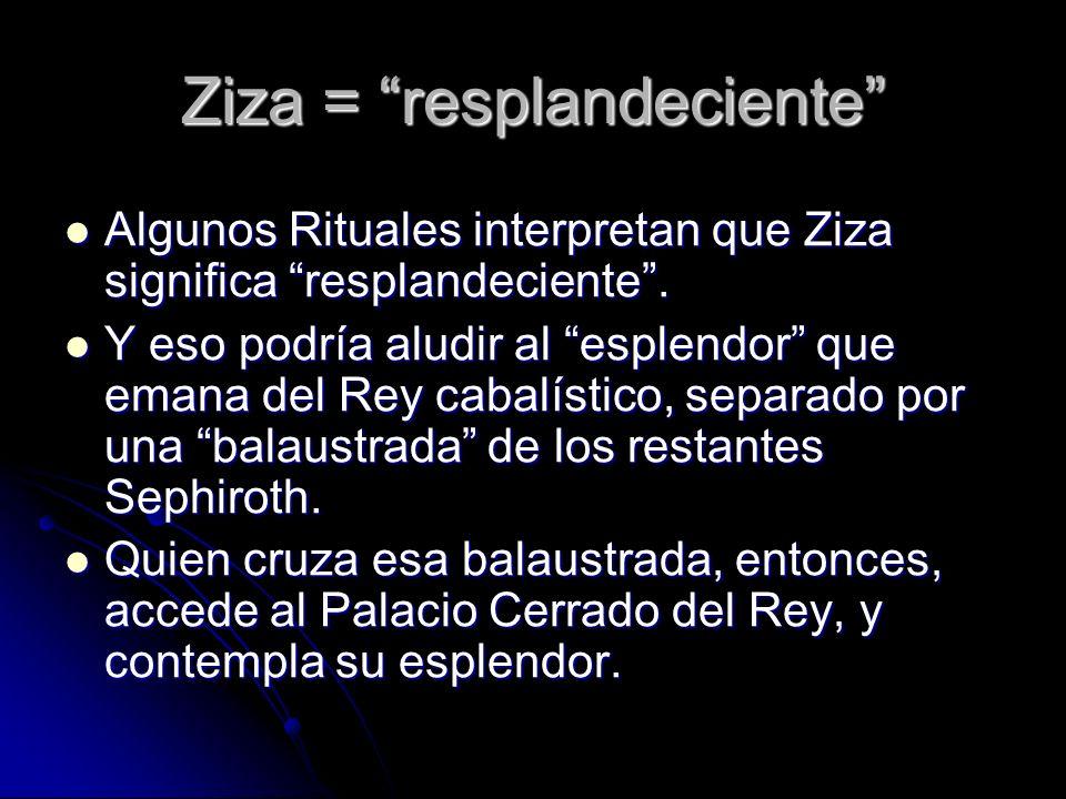 Ziza = resplandeciente