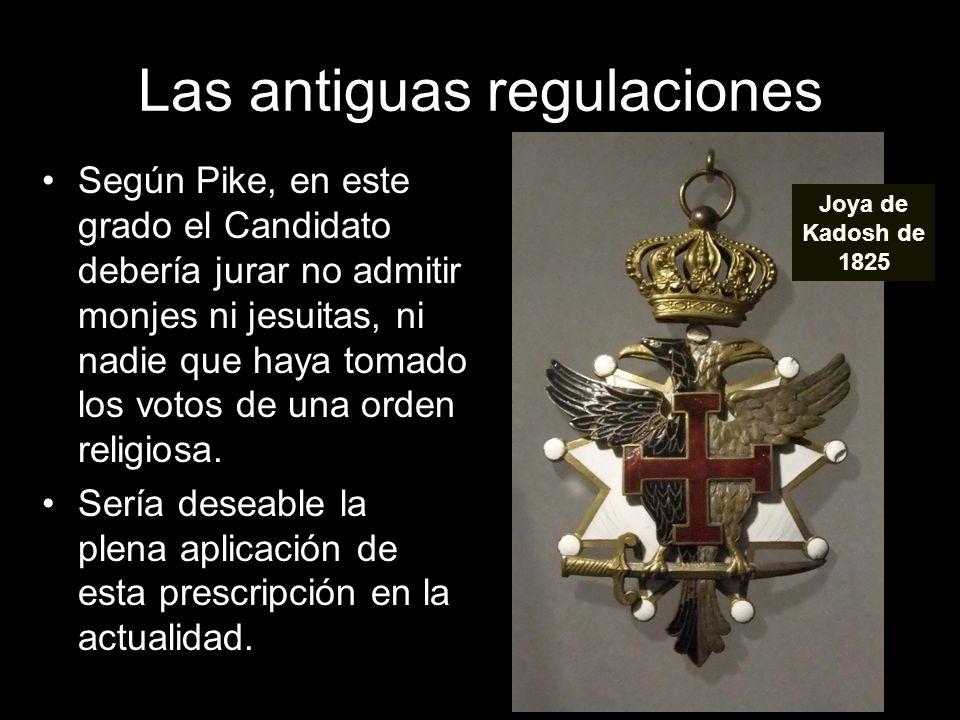 Las antiguas regulaciones