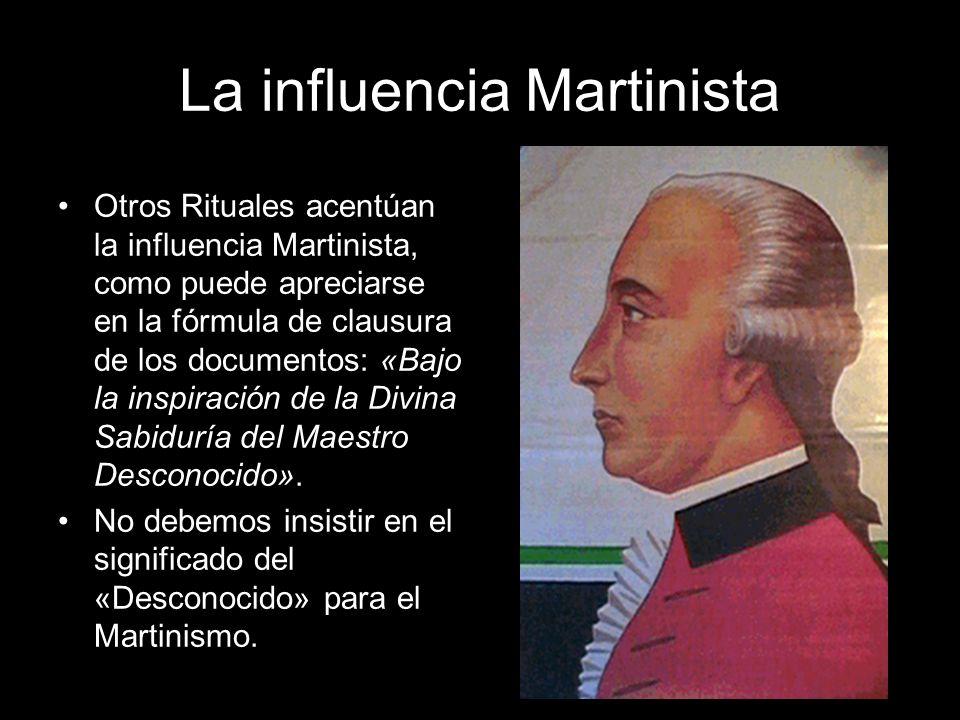 La influencia Martinista
