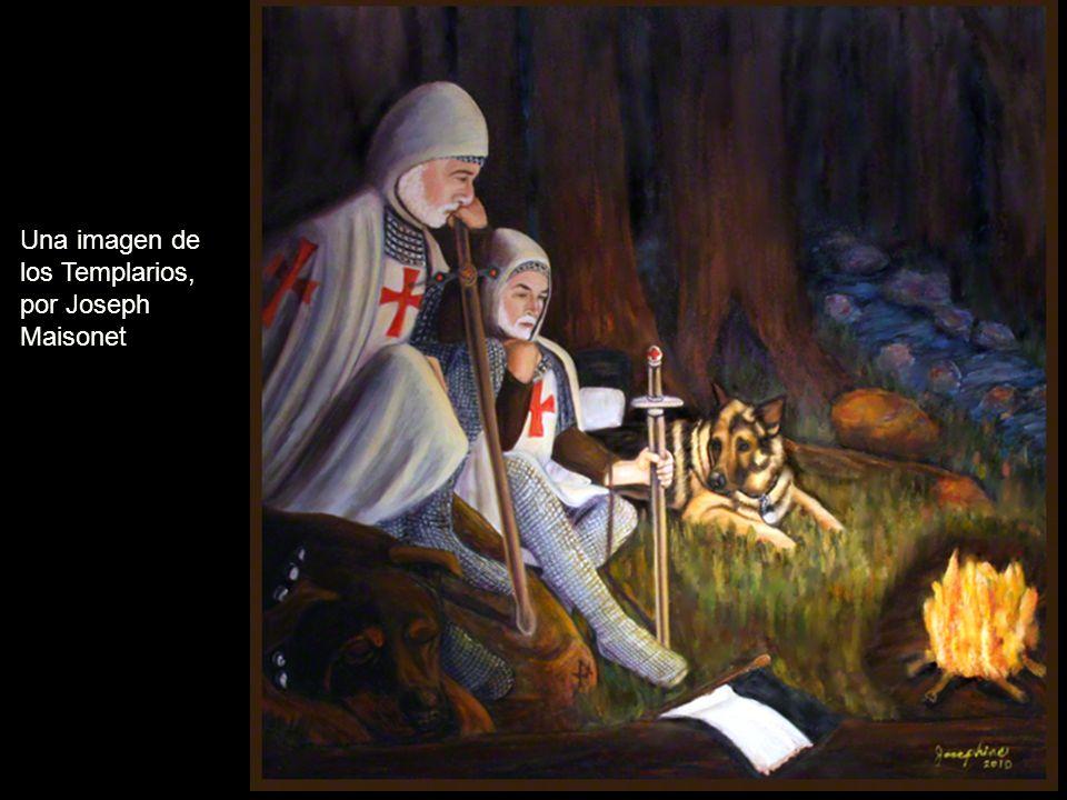 Una imagen de los Templarios, por Joseph Maisonet