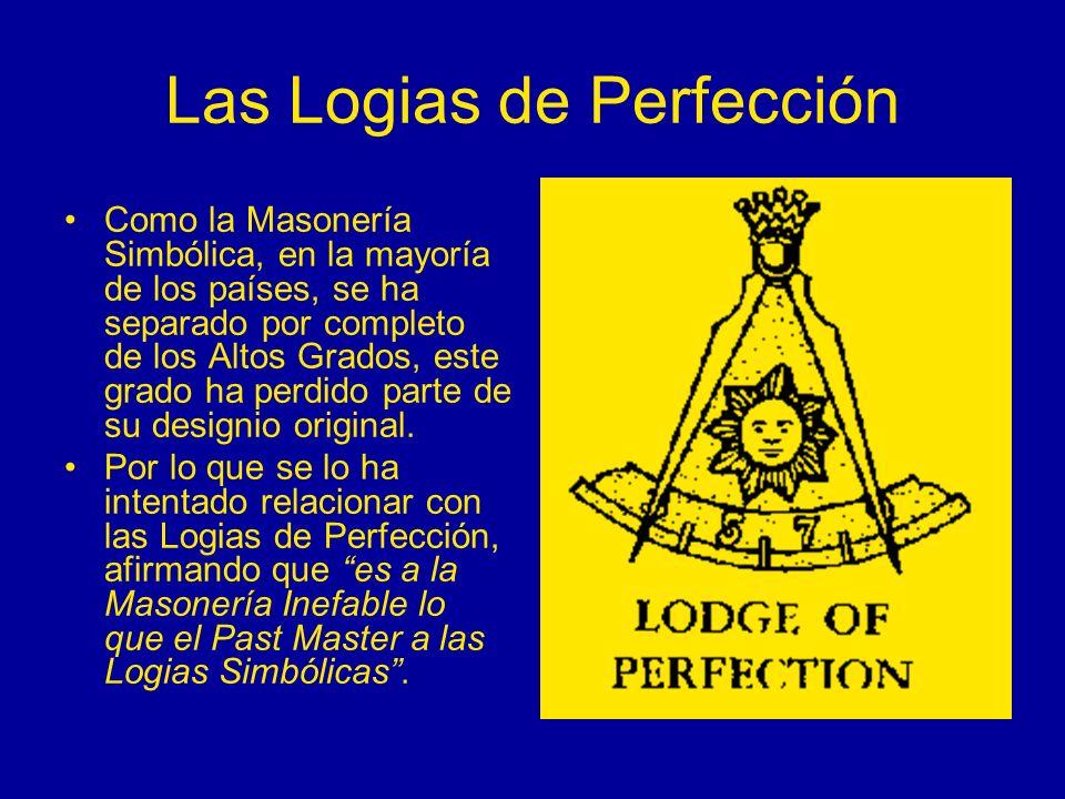 Las Logias de Perfección