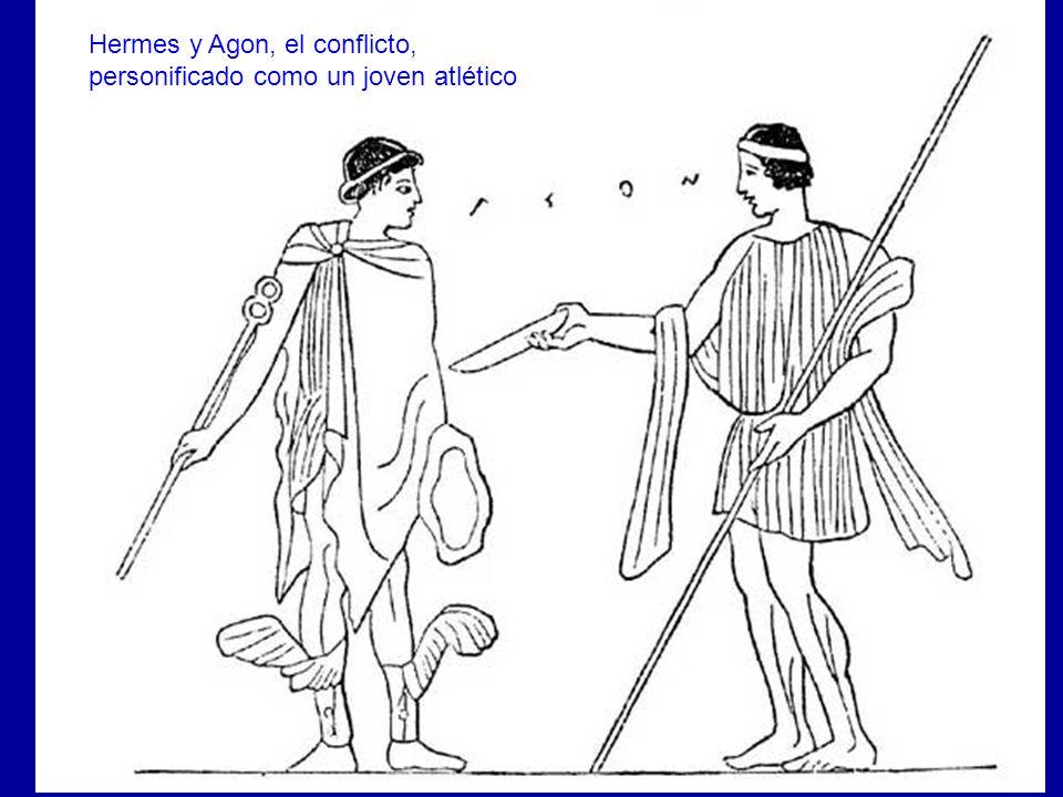 Areté y Agon Hermes y Agon, el conflicto,