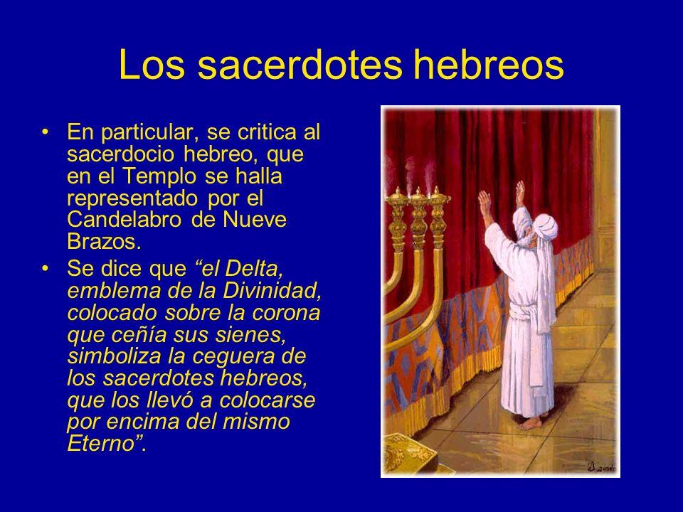 Los sacerdotes hebreos