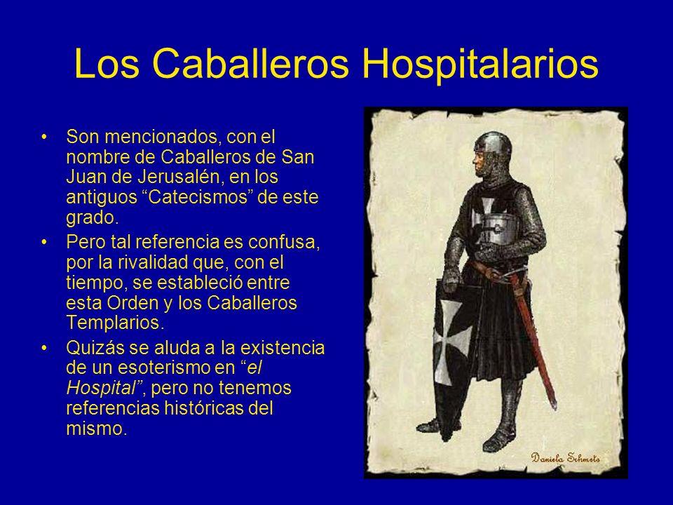 Los Caballeros Hospitalarios