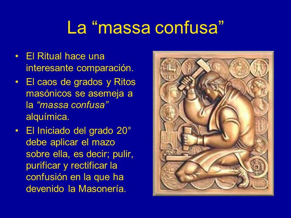 La massa confusa El Ritual hace una interesante comparación.