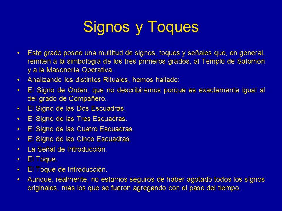 Signos y Toques