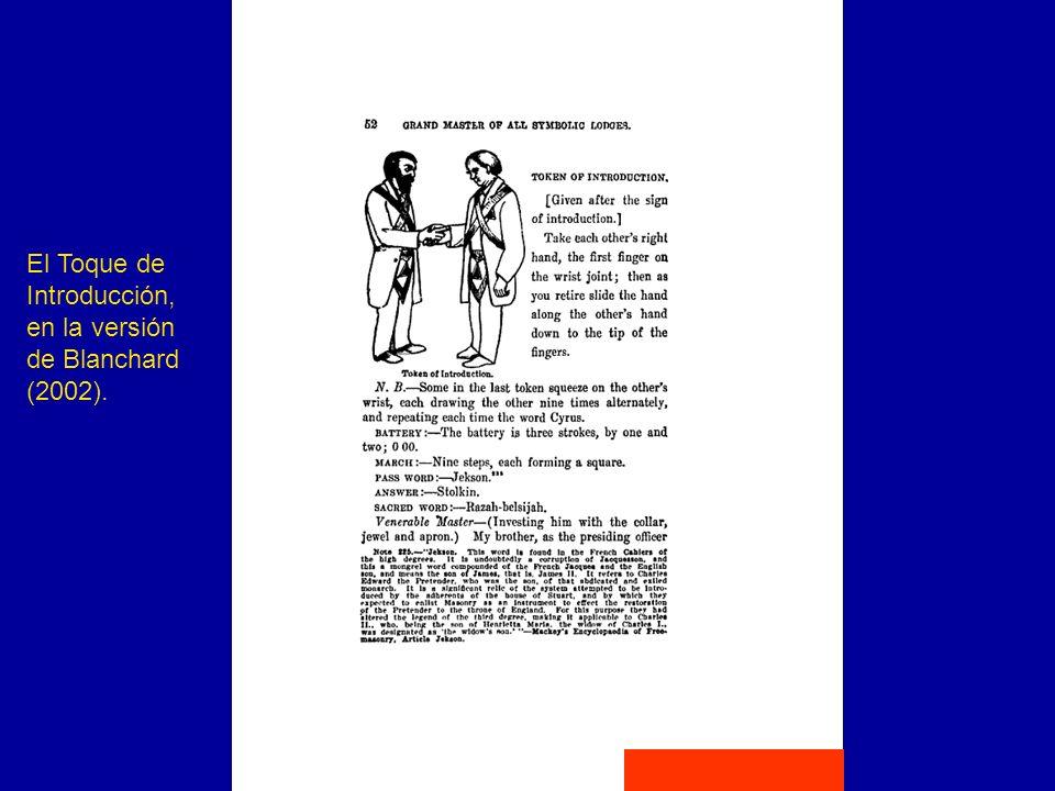 El Toque de Introducción, en la versión de Blanchard (2002).
