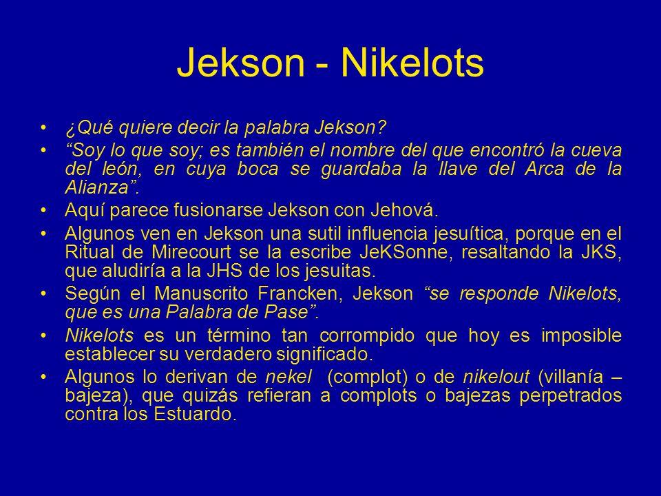 Jekson - Nikelots ¿Qué quiere decir la palabra Jekson
