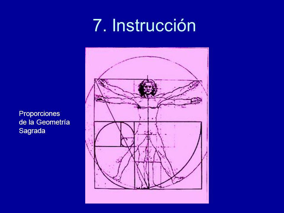 7. Instrucción Proporciones de la Geometría Sagrada