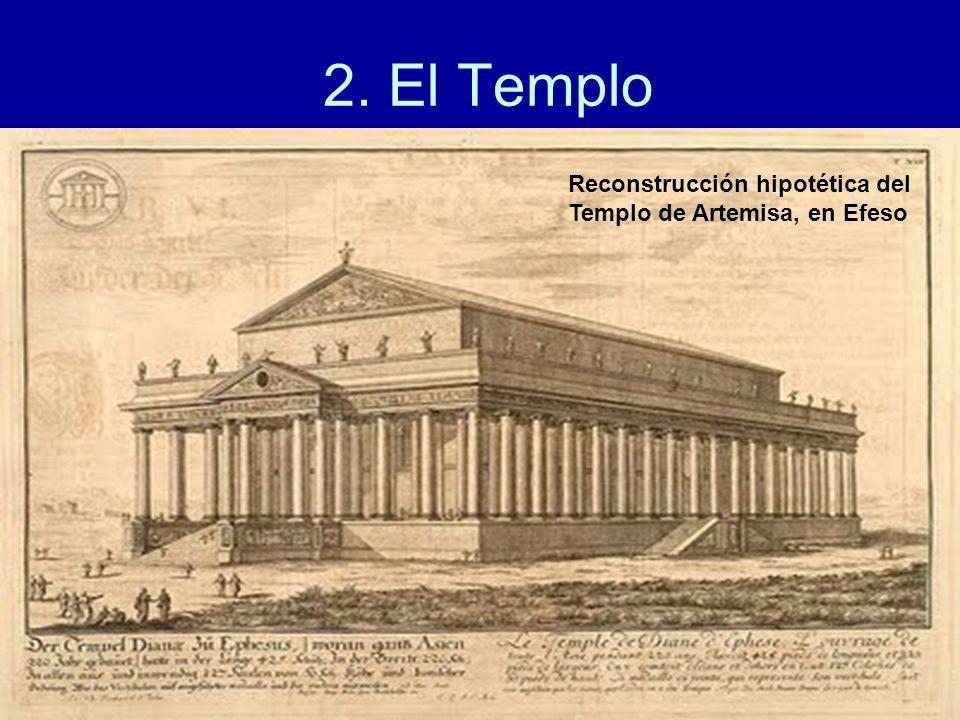 2. El Templo Reconstrucción hipotética del