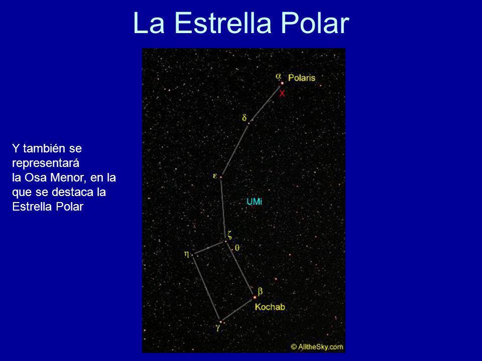 La Estrella Polar Y también se representará