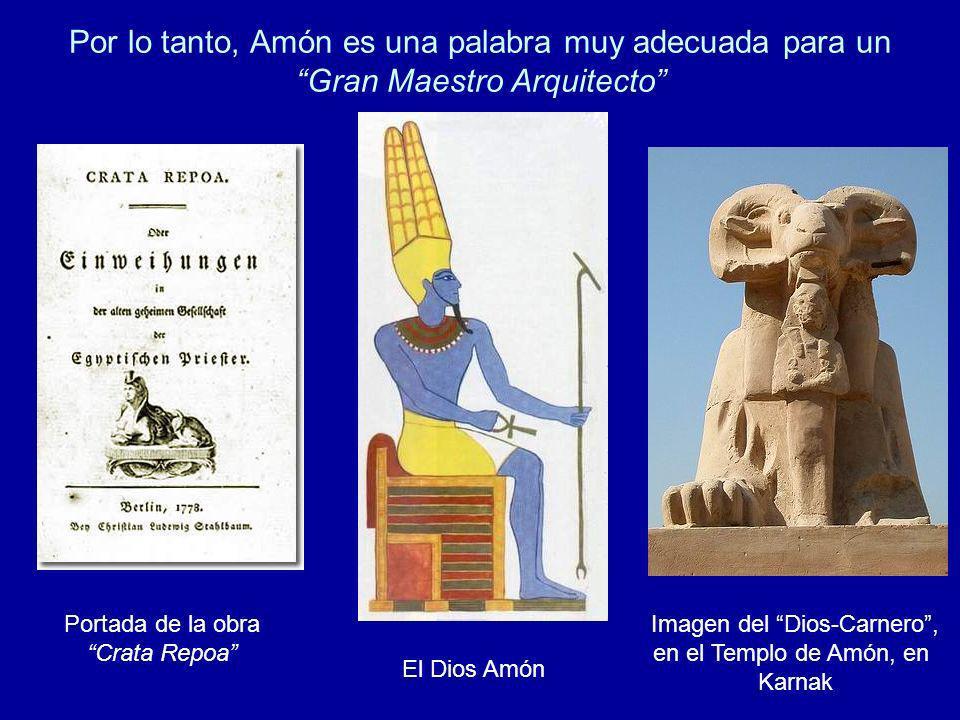 Imagen del Dios-Carnero ,