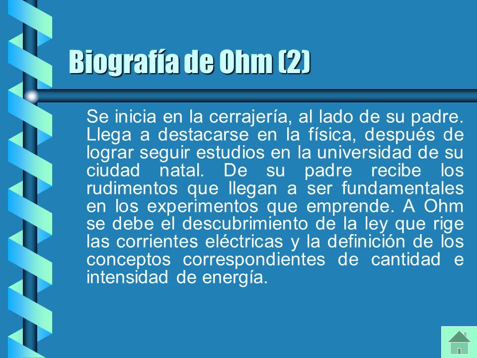 Biografía de Ohm (2)