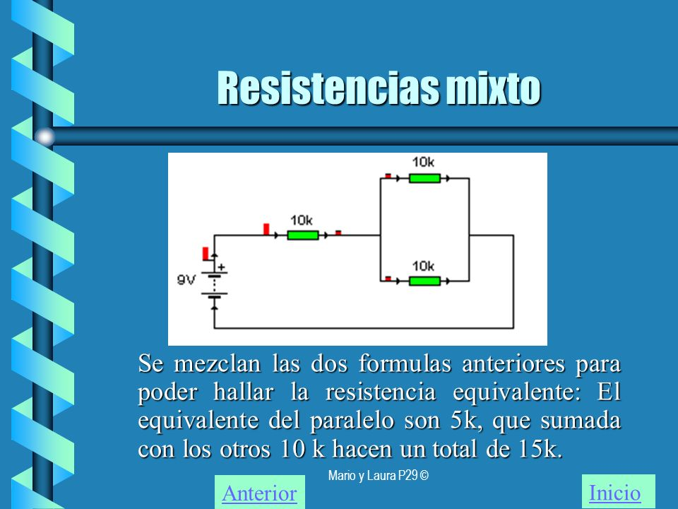 Resistencias mixto