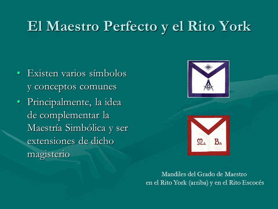 El Maestro Perfecto y el Rito York