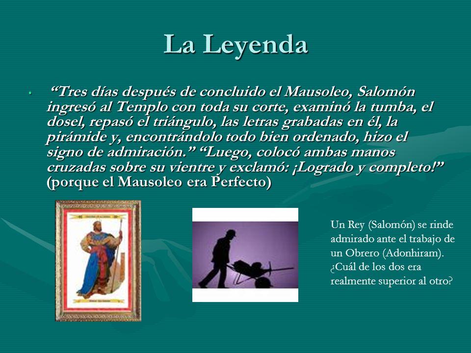 La Leyenda Un Rey (Salomón) se rinde admirado ante el trabajo de