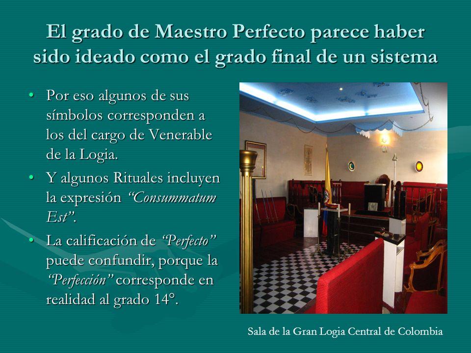 Sala de la Gran Logia Central de Colombia