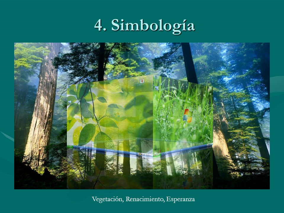4. Simbología Vegetación, Renacimiento, Esperanza