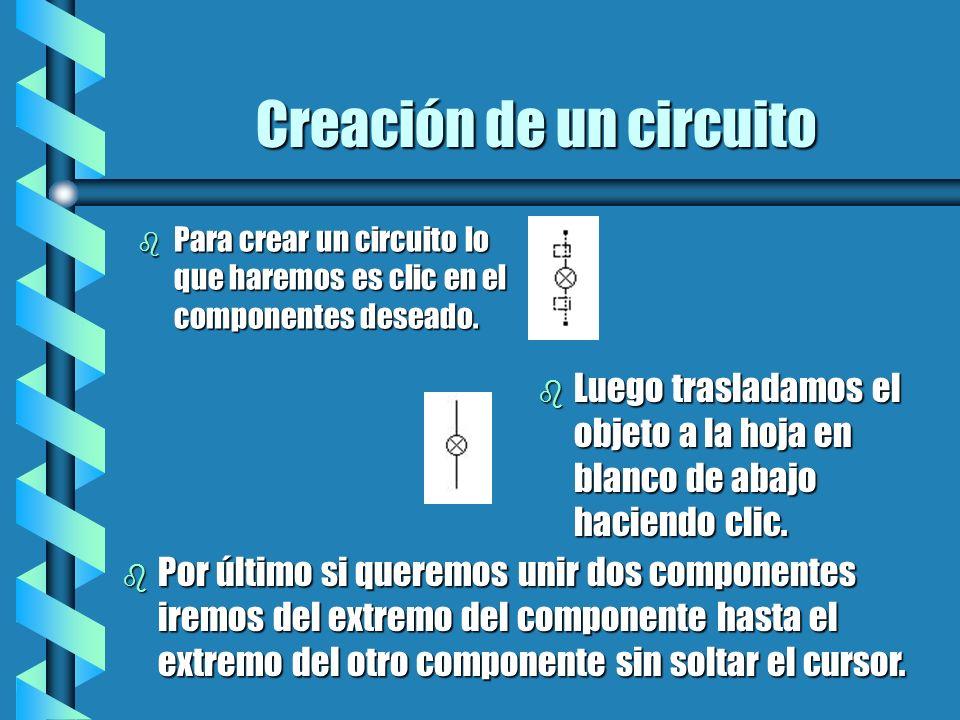 Creación de un circuito