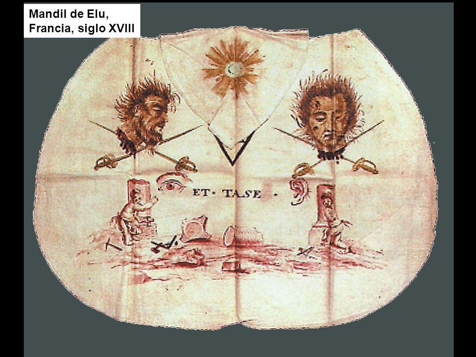 Mandil de Elu, Francia, siglo XVIII