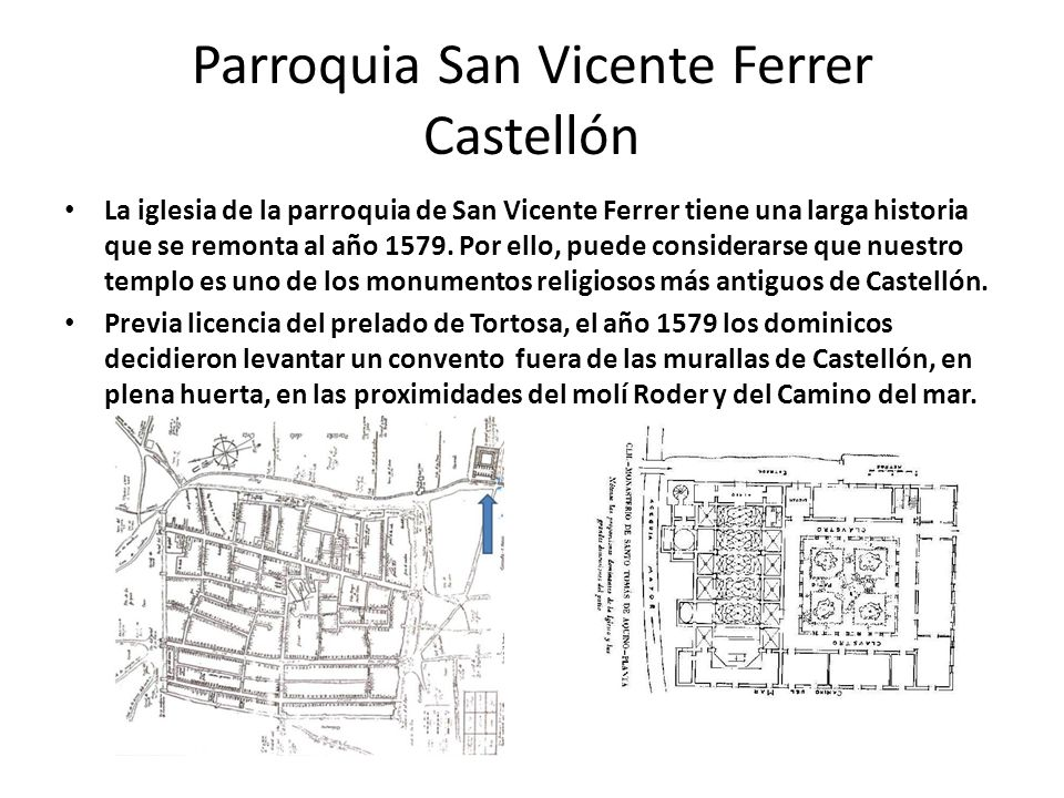 Parroquia San Vicente Ferrer Castellón