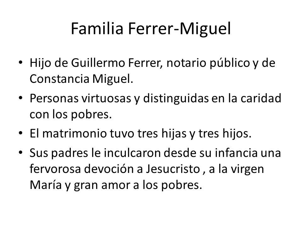 Familia Ferrer-Miguel