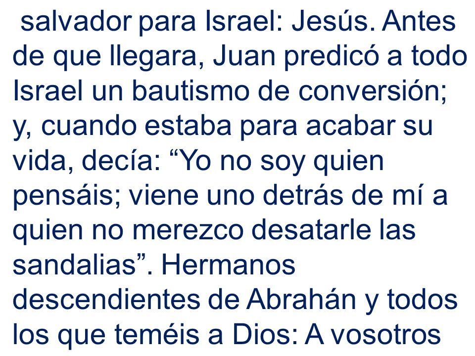 salvador para Israel: Jesús