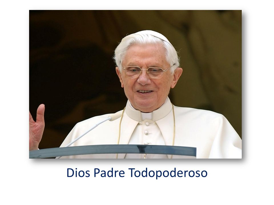 Dios Padre Todopoderoso